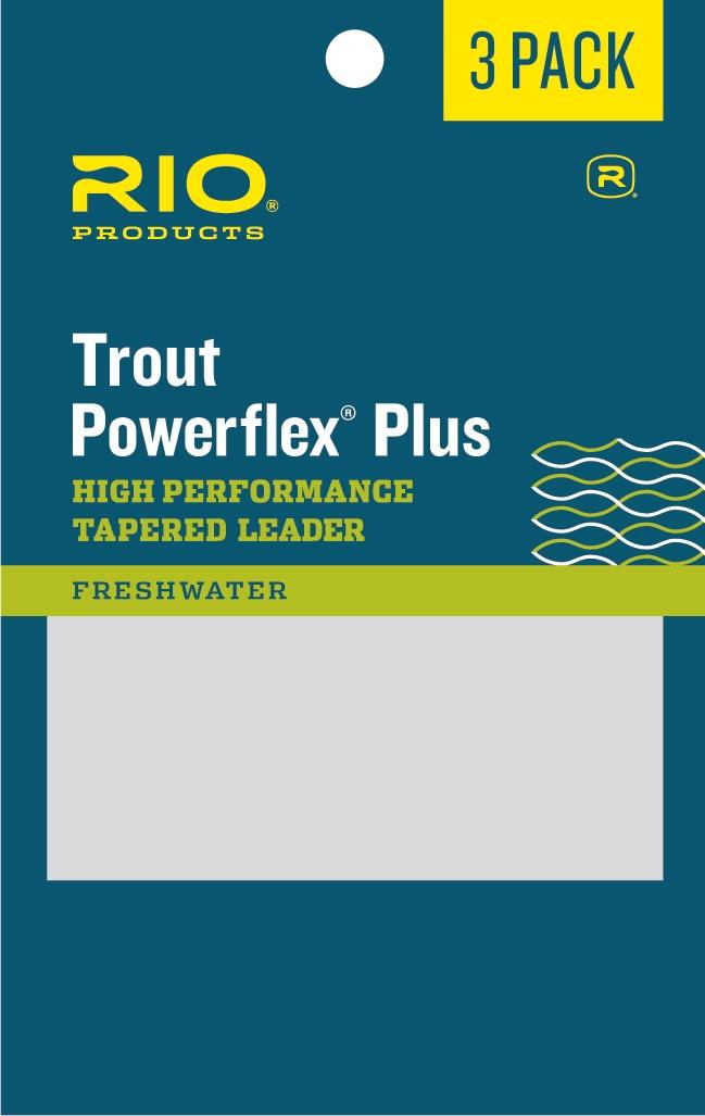 RIO Powerflex Plus 3-pack leader