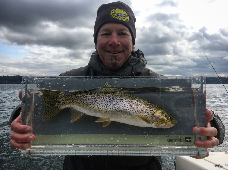 Keith Robbins trout