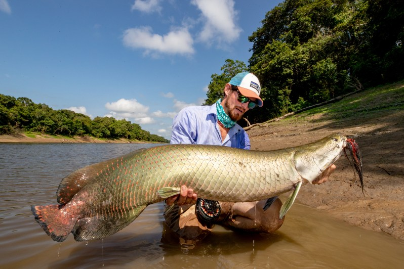 Pirarucu credit Fly Fishing Nation