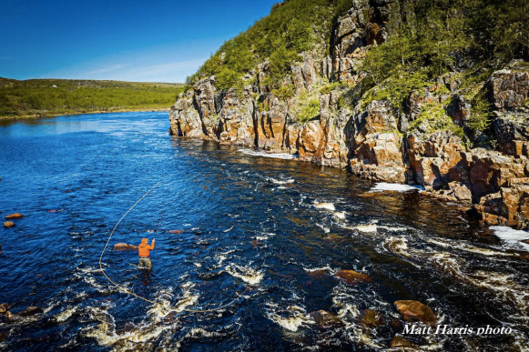 Kola Reserve fly fishing