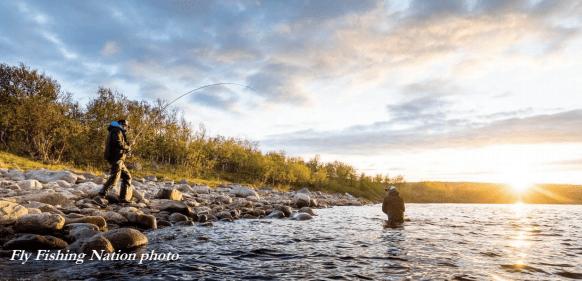 Kola fly fishing