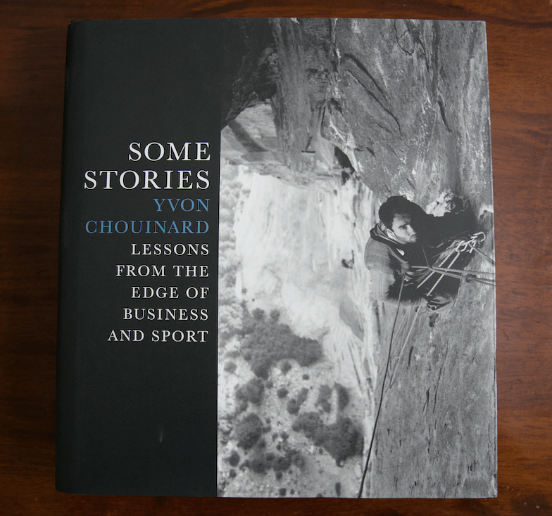 Yvon Chouinard Some Stories book