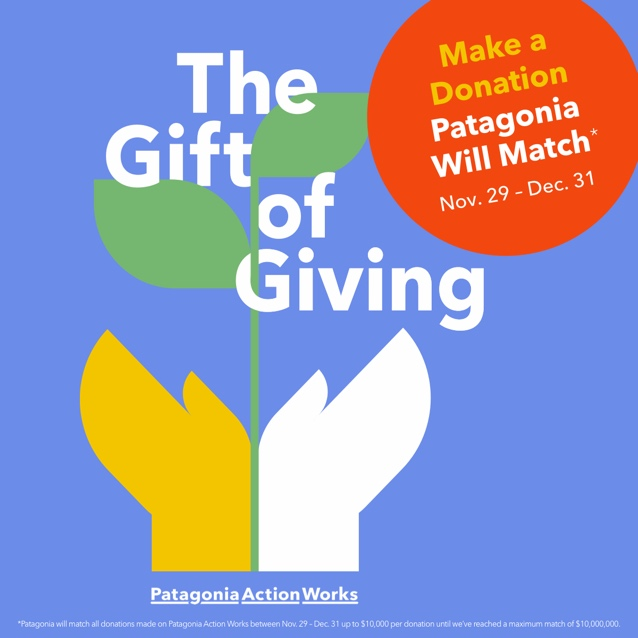 Patagonia Donation