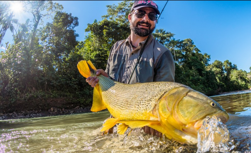 Rafael Costa fly fishing