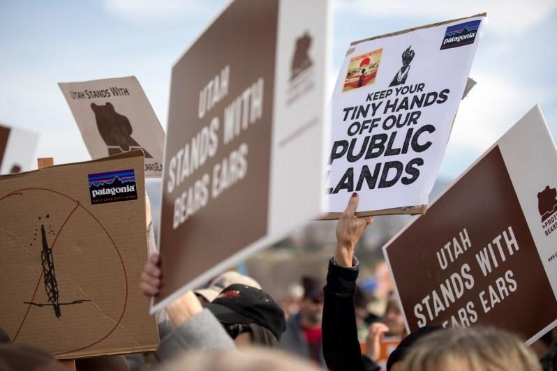 Bears Ears protest, Salt Lake City, UT