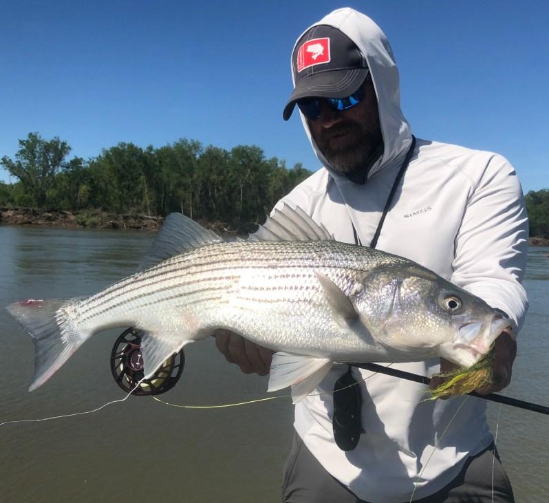 Chuck Ragan fly fishing