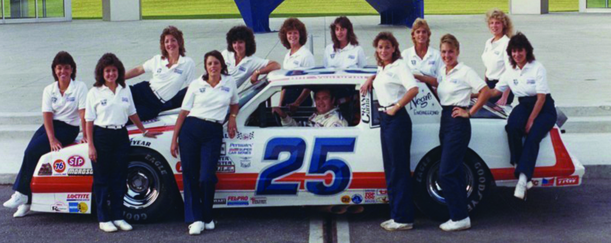 The Ultra Blue Crew All Female Pit Crew