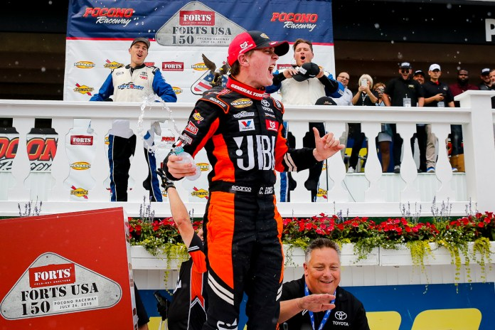 Christian Eckes Grabs Pocono Glory in Statement Victory; Delivers VMS 10th Win of Season