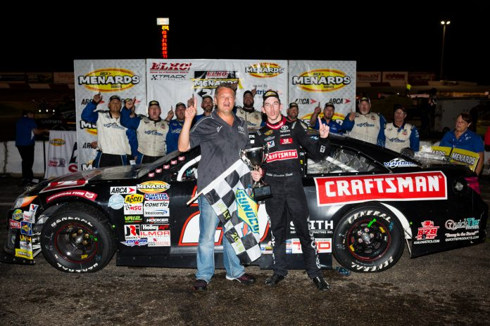 Chandler Smith Shines at Elko Speedway; Delivers VMS 60th All-Time ARCA Victory