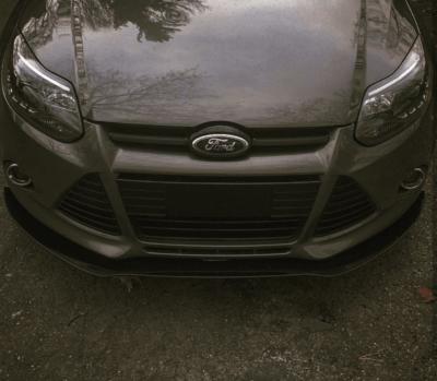 2012 2014 Ford Focus Se Titanium Sel Sedan Hatchback Front Splitter