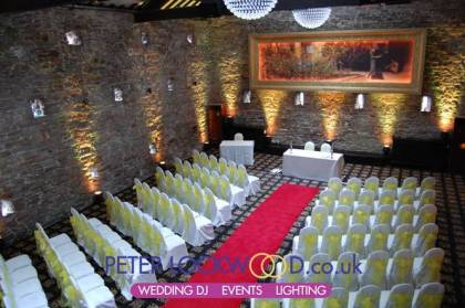 Lancashire Manor Hotel UpLighting