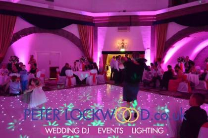 Pink Wedding Mood Lighting