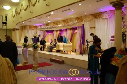 wedding up lighting