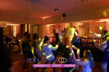 orange wedding lighting rochdale