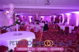 Worsley Park Marriott Wedding UpLighting