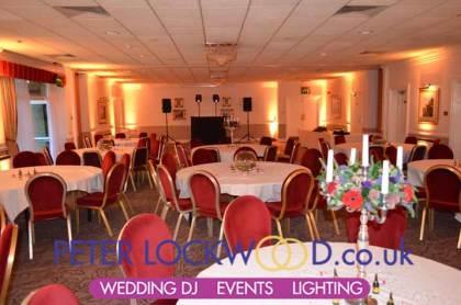 norton grange wedding lighting