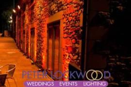 Red Wedding Lighting