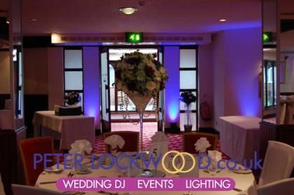 Britannia Country House Wedding Lighting