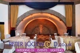 wedding lighting at shrigley hall hotel