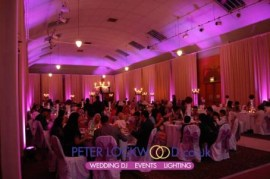 Tatton Park (Tenants Hall) Wedding Lighting