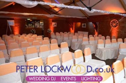 orange-wedding-lighting-in-the-bolholt-bury