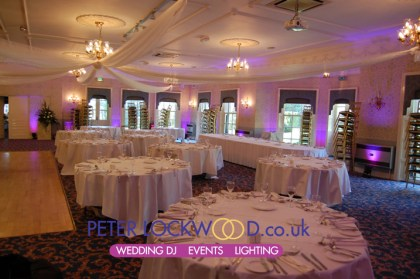 Statham Lodge Wedding Lighting