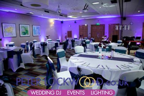 Manchester Marriott Wedding Lighting