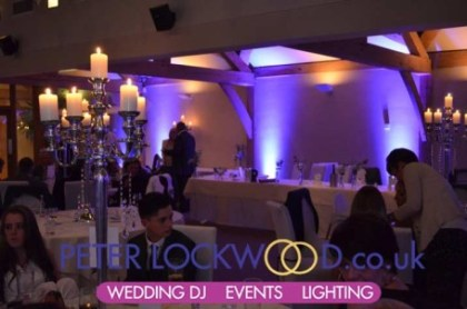 White Hart Wedding UpLighting