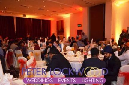 Village Urban Resort Blackpool Wedding Lighting