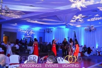 Kilhey Court Wedding UpLighting
