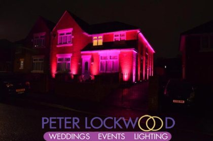 red house lighting