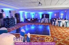 worsley marriott wedding lighting