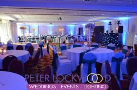 Worsley Park Marriott Wedding Lighting