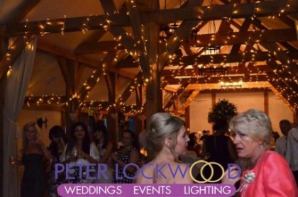 oak-beams-wedding-fairy-lights-at-sandhole-oak-barn