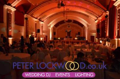 orange-uplighting-in-chadderton-town-hall