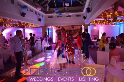 White Hart Wedding Lighting