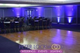 Swinton Golf Club UpLighting