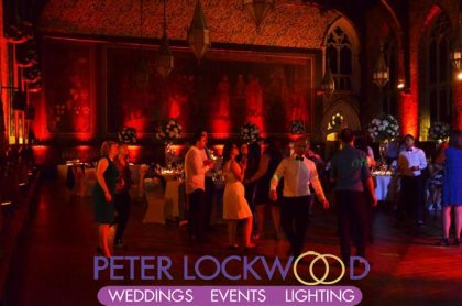 wedding and event lighting hire