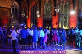 Rochdale Town Hall Wedding UpLighting