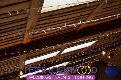owen house wedding barn lighting