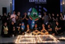 Aksi Nyata Teraskita Hotel managed by Dafam dalam Earth Hour 2019