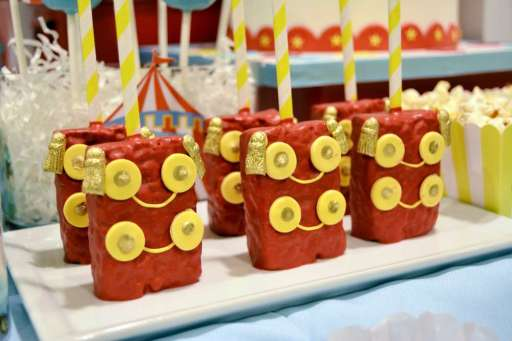 Circus Theme Birthday Party Food 8