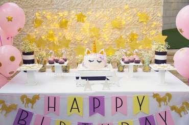 Unicorn Theme Birthday Party Decor
