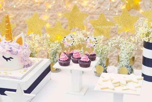 Unicorn Theme Birthday Party Food