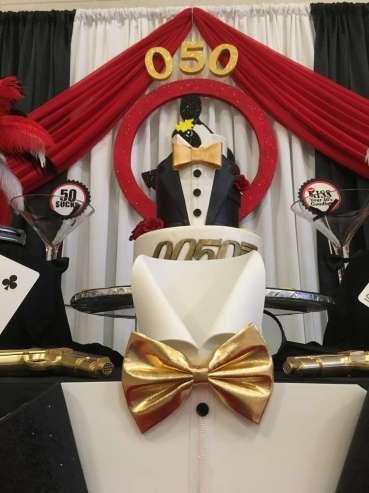 James Bond Theme Birthday Party Cake 2