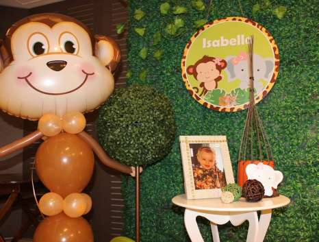 Jungle Theme Birthday Party Decoration 7
