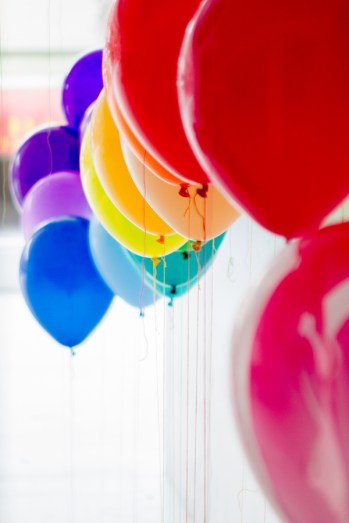 Rainbow Theme Birthday Party 3