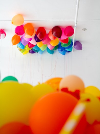 Rainbow Theme Birthday Party 4