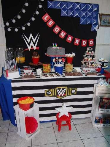 WWE Theme Birthday Party