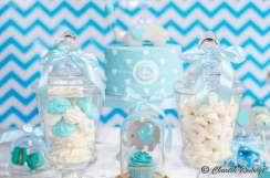 Blue Elephant Theme Birthday Party Food 7